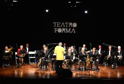 Foto del concerto al teatro FORMA di Bari per l'ottavo festival dell'Arte Russa a Bari