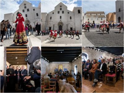 [Report] fotografico mostra Bari 100x100 e conferenza VIII festival dell'arte Russa a Bari