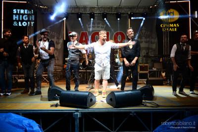 Foto concerto di Paolo Belli e Big Band al Fashion District di Molfetta - 15 giugno 2014