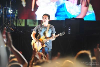 Foto concerto dei Tiromancino all'Outlet di Molfetta - 19 luglio 2014