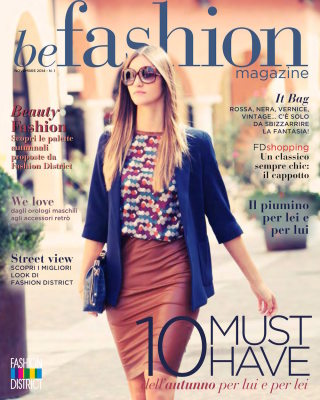 BE FASHION! - Foto per Magazine dedicato al Fashion e alla moda - Fashion District Outlet