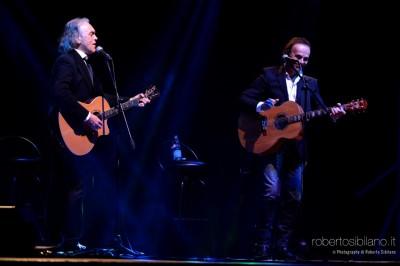 Foto concerto Dodi Battaglia e Riccardo Fogli a Bitonto - 22 febbraio 2015 - Noi e la nostra storia