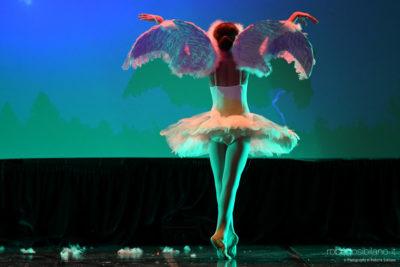 """Foto di Danza durante l'esibizione del corpo di ballo """"Les Sylphides"""" di Modugno"""