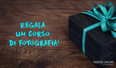 Regala un corso di fotografia!